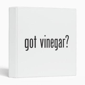 got vinegar vinyl binder