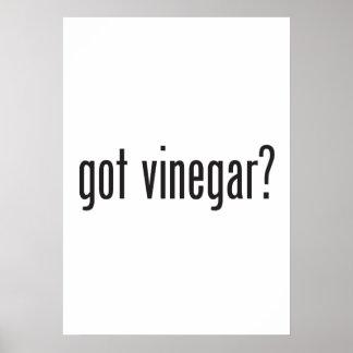 got vinegar print