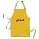 got vino? adult apron