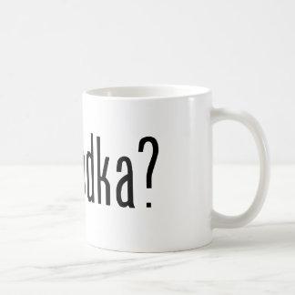 got vodka? classic white coffee mug