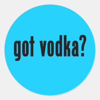 got vodka? round stickers