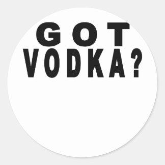 Got Vodka T Shirts.png Stickers