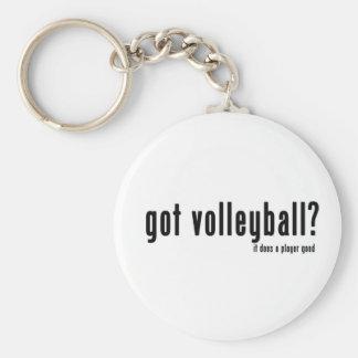 Got Volleyball? Basic Round Button Keychain