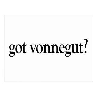 Got Vonnegut Postcard