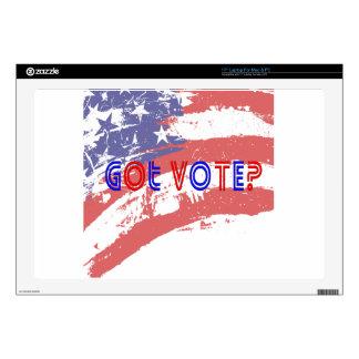 """Got Vote 17"""" Laptop Decal"""