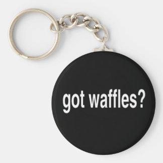 Got Waffles Basic Round Button Keychain