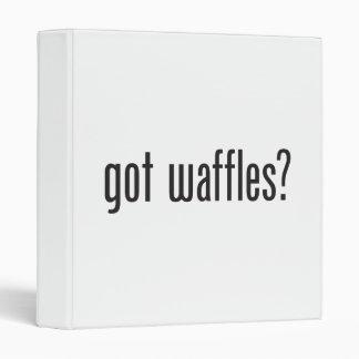 got waffles vinyl binder