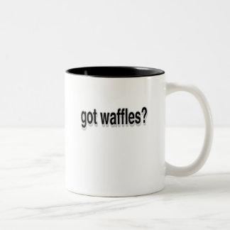 Got Waffles Two-Tone Coffee Mug
