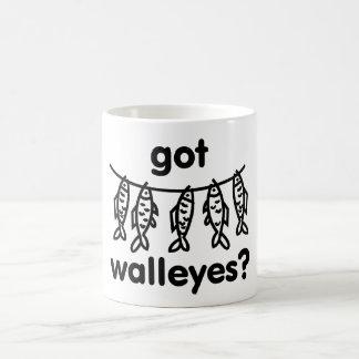 got walleye fish coffee mug