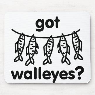 got walleye fish mousepads