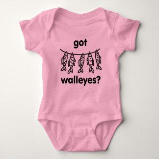 got walleyes baby bodysuit
