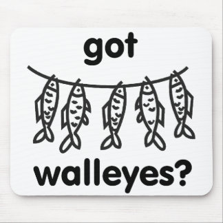 got walleyes mouse pads