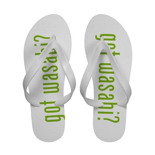 got wasabi? flip flops