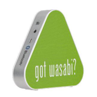 got wasabi? speaker