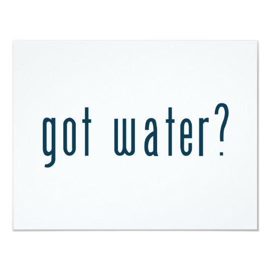 got water card