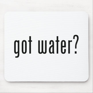 got water? mouse pad