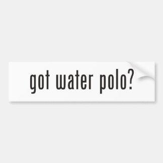 got water polo? bumper sticker