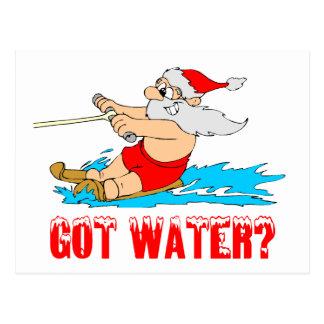 Got Water? Santa Postcard