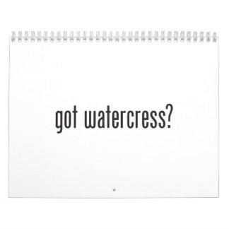 got watercress wall calendars