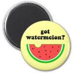 Got watermelon? 2 inch round magnet