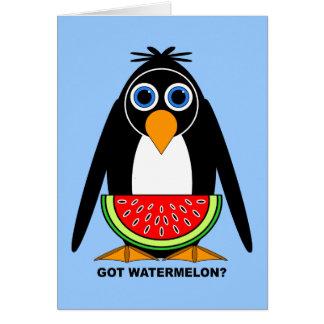 got watermelon card