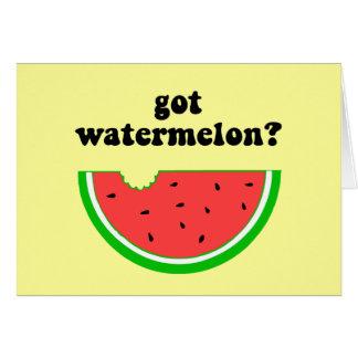 Got watermelon? card