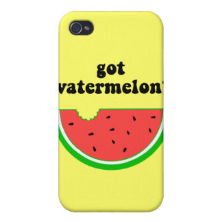 Got watermelon? cover for iPhone 4