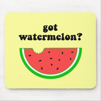 Got watermelon? mouse pad