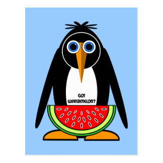 got watermelon post card