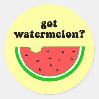 Got watermelon? sticker
