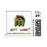 """Got Web"" Small Postage Stamp"