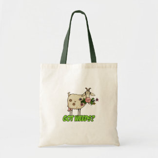 got weeds goat tote bags