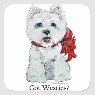 Got Westies? Stickers