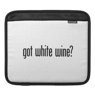 got white wine iPad sleeve