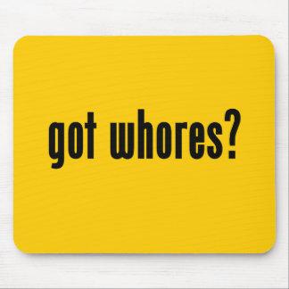 got whores? mouse pad