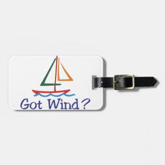 Got Wind? Luggage Tag