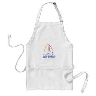 Got Wind Sailboat Adult Apron