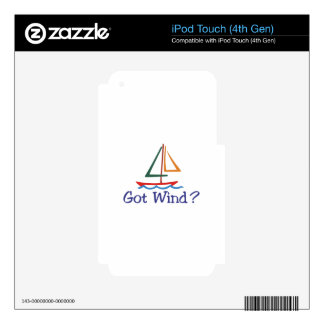 Got Wind? Skin For iPod Touch 4G