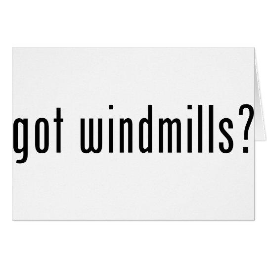 got windmills? card