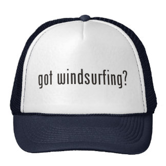 got windsurfing? trucker hat
