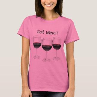 GOT WINE? FUN WINE GLASSES PRINT T-Shirt