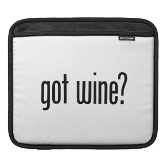 got wine iPad sleeve