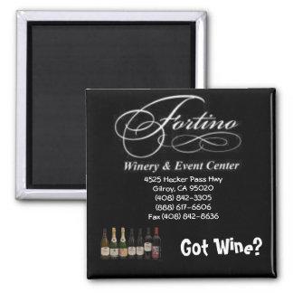 Got Wine? 2 Inch Square Magnet