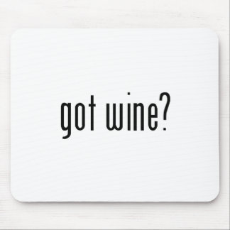 got wine? mouse pad