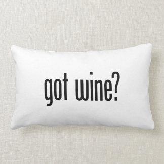 got wine pillow