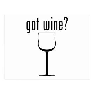 got wine? postcards