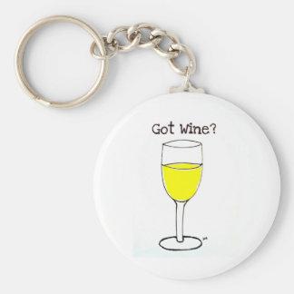 GOT WINE PRINT by jill Keychain