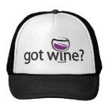 got wine? trucker hat