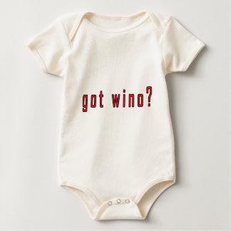 got wino? baby bodysuit