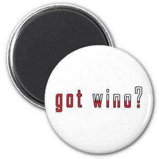 got wino? Flag Magnet